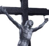 Croix sainte avec la religion crucifiée de Jesus Christ, foi, sainte, s photos libres de droits
