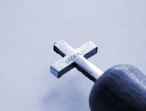 Croix sainte de Jérusalem Photographie stock