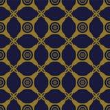 Croix sans couture antique Dot Frame de contrôle de coin rond de fond illustration libre de droits