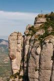 Croix sur une falaise Images stock