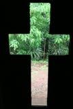 Croix tropicale de nature Photographie stock