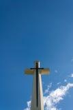 Croix verticale Photo libre de droits