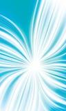 Croix vive bleue abstraite de flux Image stock