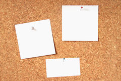 Crok notice board Stock Image