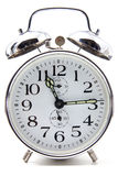Crome alarm clock Stock Photos
