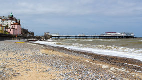 Cromer Beach and Pier Norfolk England UK Royalty Free Stock Images