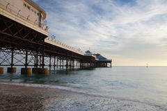 Cromer beach and Pier in Norfolk Royalty Free Stock Images