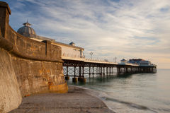 Cromer beach and Pier in Norfolk Stock Images