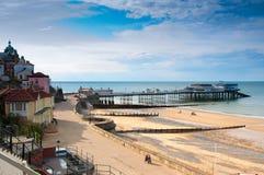 Cromer. kust stad in Norfolk, Engeland Stock Fotografie