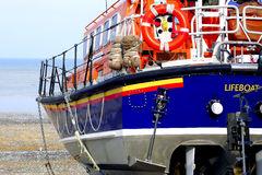 Cromer Lifeboat ready to launch Royalty Free Stock Image