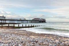 Cromer molo w Norfolk Obraz Royalty Free