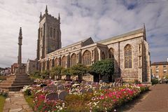 Cromer Parish Church. Has the tallest tower in Norfolk, England Royalty Free Stock Photos