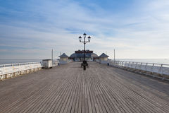 Cromer Pier in Great Britain Royalty Free Stock Photography