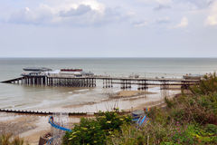 Cromer pier & Lifeboat slip Stock Photos