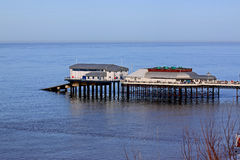 Cromer Pier and lifeboat station, Norfolk Stock Photos