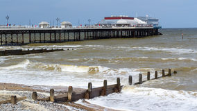 Cromer Pier Norfolk England UK Royalty Free Stock Photo