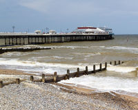 Cromer Pier Norfolk England UK Royalty Free Stock Image