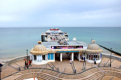 Cromer pier. Royalty Free Stock Photo