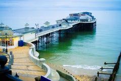 Cromer pier in Norfolk, UK royalty free stock images