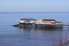 Cromer Pier. And the Pavilion Stock Photos