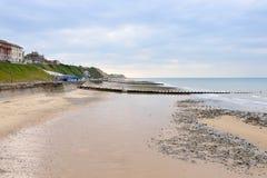 Cromer Strand vom Pier Stockfoto
