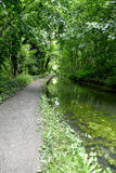 Cromford Canal, portrait. Stock Image