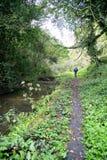 Cromford kanał Zdjęcie Royalty Free