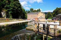 Cromford-Mühle Lizenzfreie Stockbilder