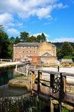 Cromford-Mühle Stockbilder
