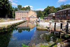 Cromford Mill. Stock Image