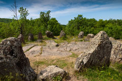 Cromlech in Bulgaria Royalty Free Stock Photo