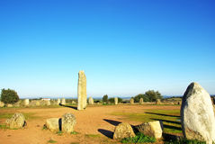 Cromlech of Xerez , Portugal Royalty Free Stock Photography