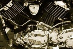 Cromo metálico Fotografía de archivo