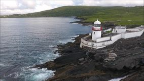 Cromwell fyr Valentia Island ireland stock video