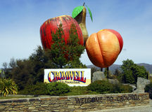 Cromwell Sign Royalty Free Stock Images