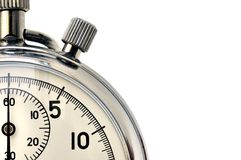 Cronómetro fotografía de archivo libre de regalías