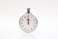 Cronómetro analogico Foto de archivo