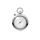 Cronómetro, ejemplo realista Imagen de archivo libre de regalías