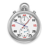 Cronómetro (trayectoria de recortes incluida) Fotografía de archivo