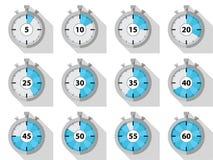 cronómetros ilustración del vector