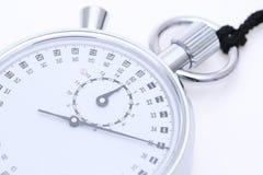 Cronômetro análogo do metal fotografia de stock