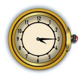 Cronômetro antigo do ilustrador do vetor Fotografia de Stock