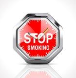 Cronômetro - hora de parar fumar 2 Fotos de Stock Royalty Free