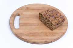 Crono pão caseiro com espaço da cópia Fotografia de Stock