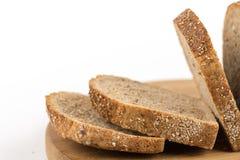 Crono pão saudável isolado sobre o fundo branco Fotos de Stock Royalty Free