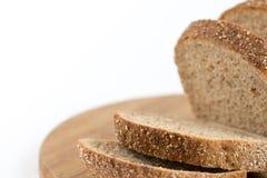 Crono pão saudável isolado sobre o fundo branco Fotografia de Stock Royalty Free