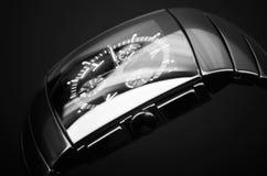 Cronografo, ceramica alta tecnologia del nero Immagine Stock Libera da Diritti