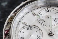 Cronografo dell'orologio Fotografie Stock