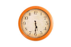 Cronometre mostrar a hora do 5:30 Foto de Stock