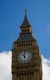 Cronometre na torre do St Stephen/Ben grande Imagem de Stock Royalty Free